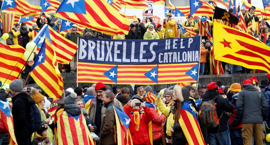 После подсчета половины голосов вКаталонии 25% набрала партия «Граждане»