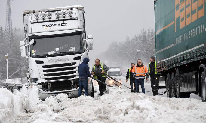 Врезультате происшествия надороге  около шведского города Кируна погибли шесть иностранцев
