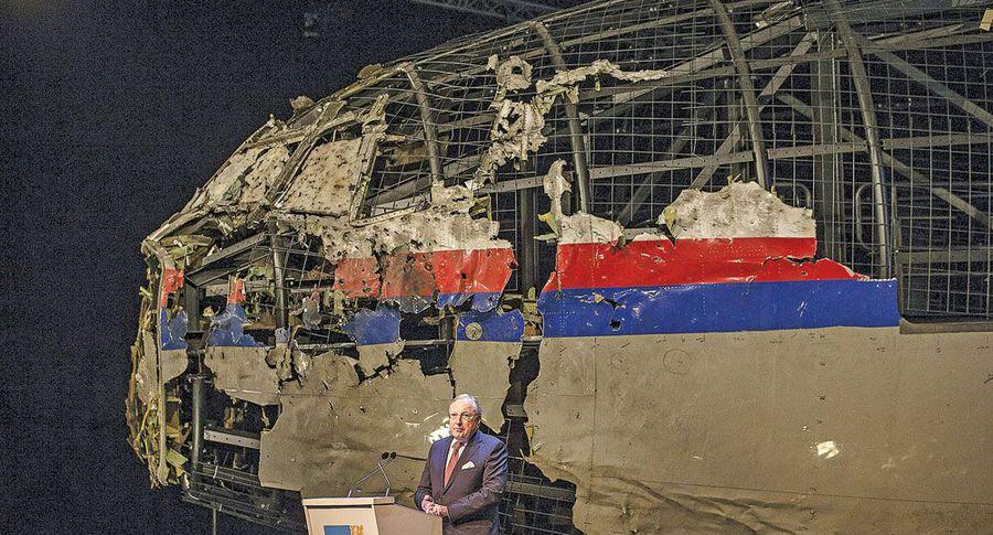 ВАмстердаме открыли мемориал жертвам крушения MH17 над Донбассом