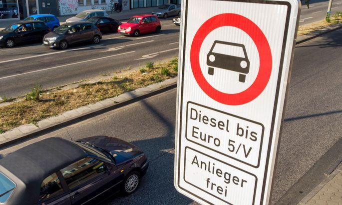 ВГермании начали действовать первые запреты надизельные авто