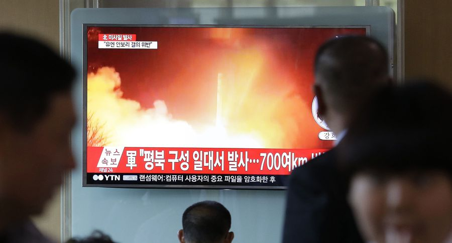 Запуск ракеты КНДР надоумил Японию сплотиться сРоссией