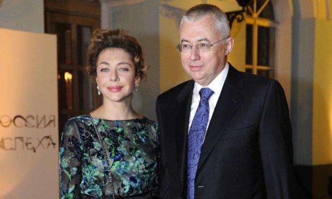 Божена Рынска с мужем Игорем Малашенко