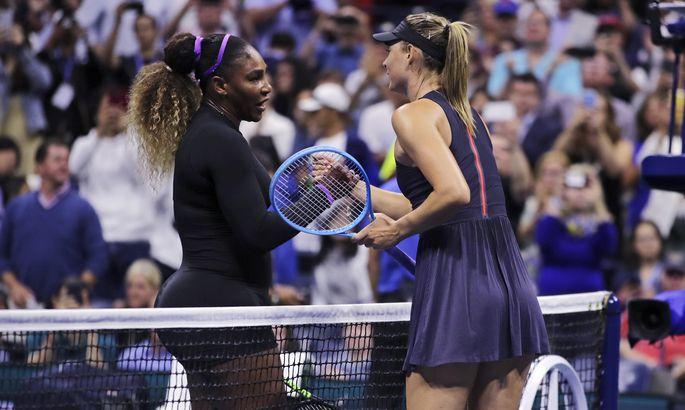 Серена Уильямс разгромила Марию Шарапову впервом круге— USOpen