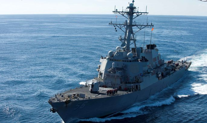 Боевые корабли ВМС CШA грубо нарушили суверенитет Китая вЮжно-Китайском море