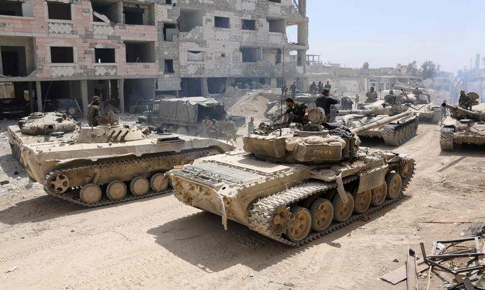 США ненаносят удары поСирии— Пентагон