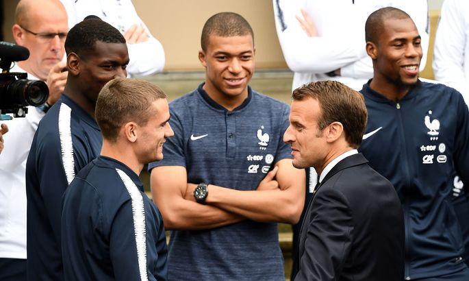 Игрок сборной Франции Погба впечатлён приёмом Российской Федерации  наЧМ