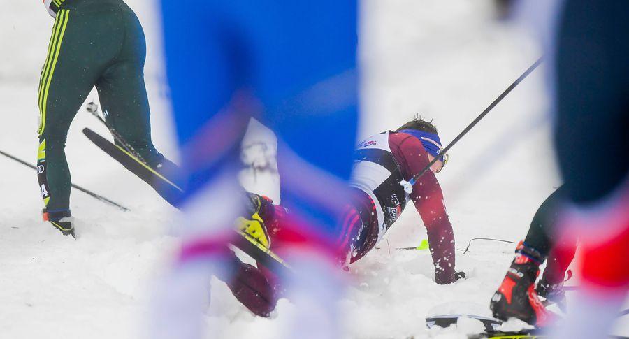 ВОберстдорфе из-за непогоды отменили лыжный спринт