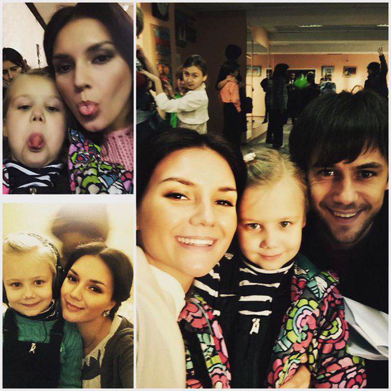 Татьяна арнтгольц фото с детьми