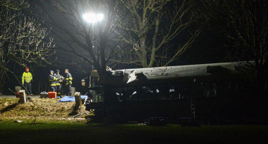 ВЧехии автобус спассажирами попал вДТП