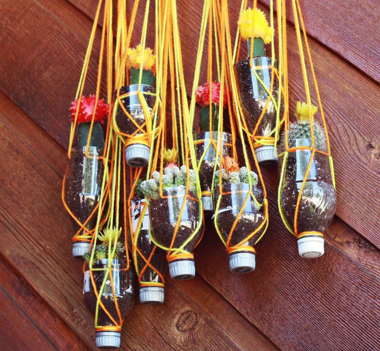 Поделки из пластиковых бутылок своими руками Handmade Idea 46