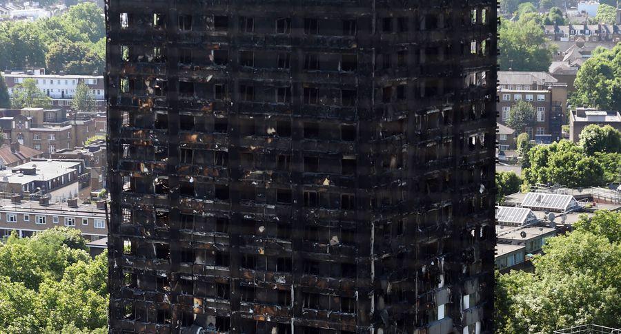 НаБританских островах 60 высоток непрошли проверку напожарную безопасность