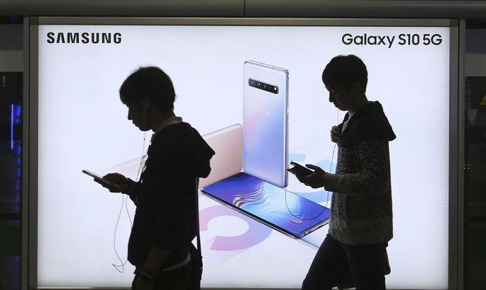 Samsung Galaxy S10 5G reklaam