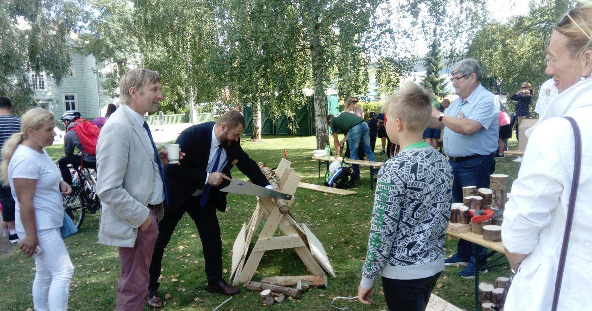 Klõps: keskkonnaminister saagis puud