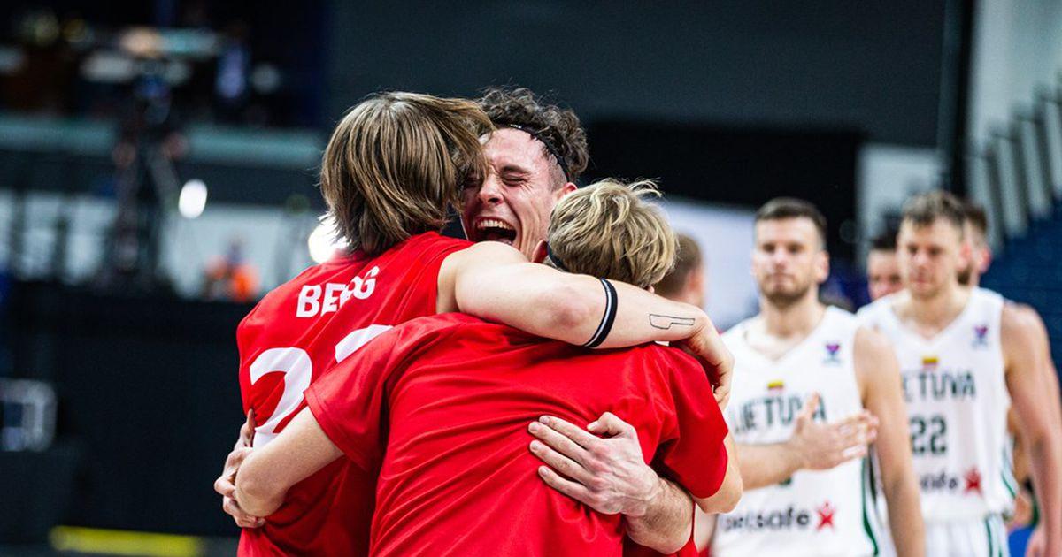 Lithuanian basketball players in Vilnius sensationally lose to Denmark – Basketball – Apollo.lv – Sports