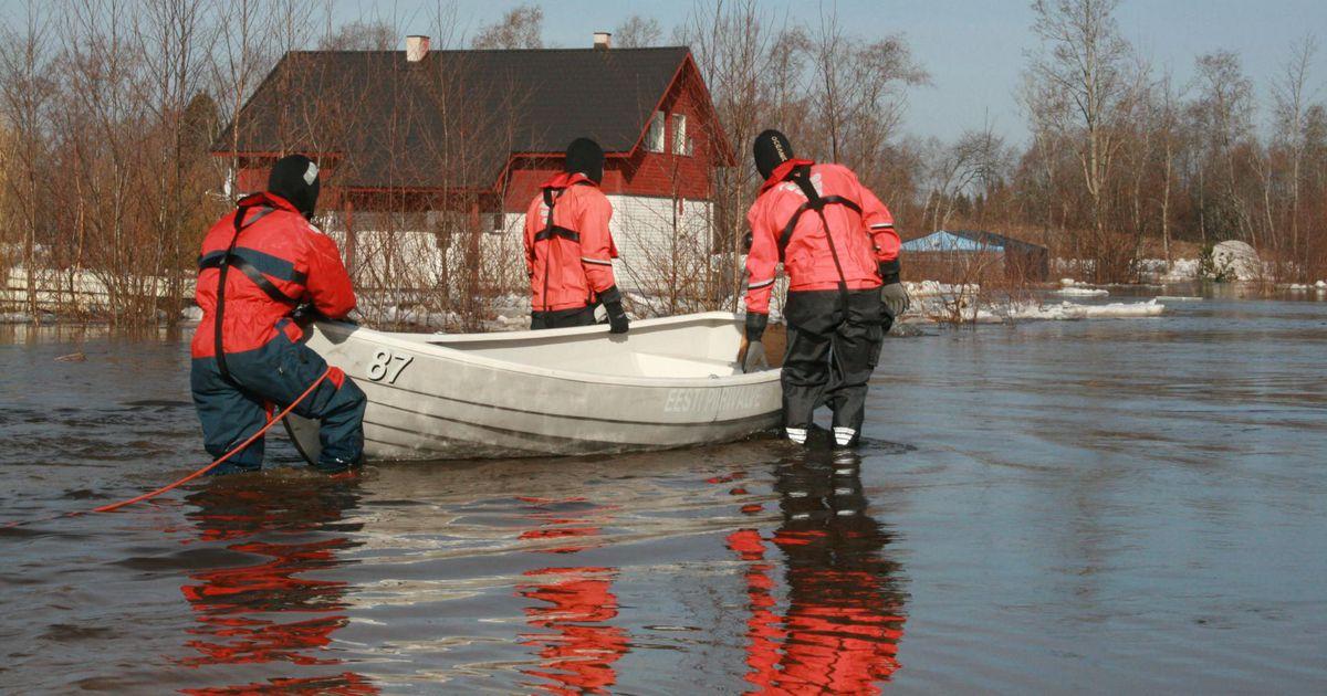 Üleujutuse riskiga piirkondade sekka lisati Sindi linn
