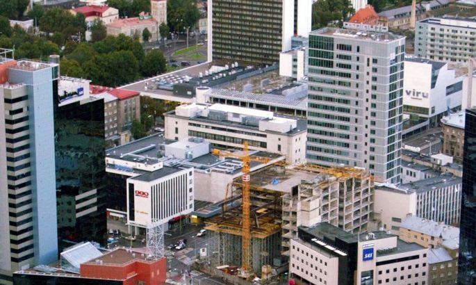 adff2e44a80 Kaubamaja soovib kõrghoonet ehitada oma madalama kahekorruselise osa  asemele.