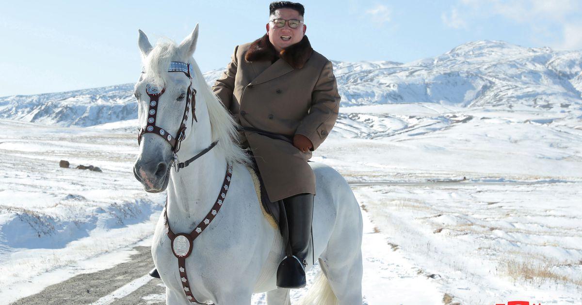 Ziemeļkorejas vadoņa dārgā kaislība uz Krievijas tīrasiņu zirgiem