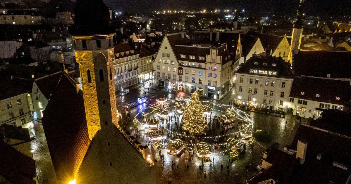 Eile avati koroona kiuste kuuks ajaks Tallinna jõuluturg