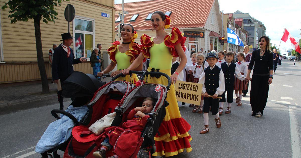 Galerii: Võru suur tantsufestival sai paraadiga avapaugu