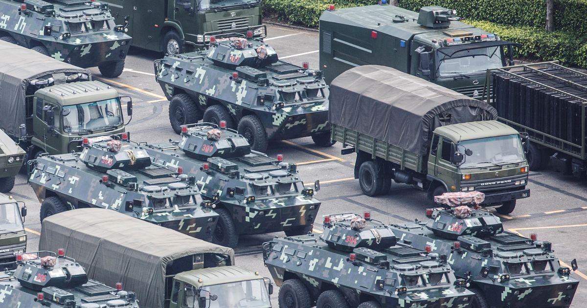 USA president väljendas muret Hongkongiga seoses