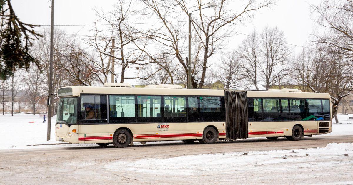 Bussid jäid vahele lekkiva paagi ja sileda rehviga