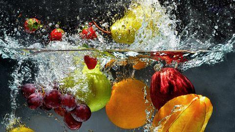 Oluline on enamik vitamiine saada tervislikust toidust.