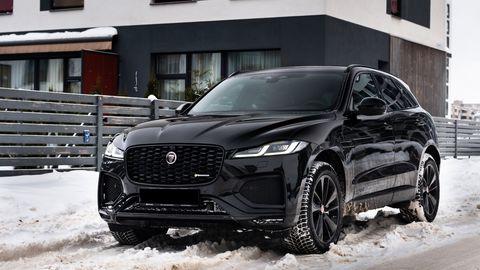 Vaata, milline näeb välja Jaguar F-PACE uus mudel