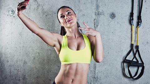 Liigsete eneseklõpsude tegemine on üks paljudest ebameeldivatest asjadest, mida trennisaalis teha.