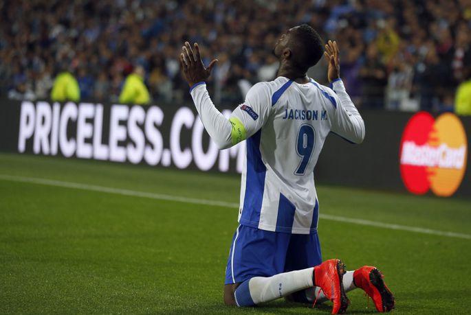46060c9b579 Sel hooajal Meistrite liigas kuus väravat löönud FC Porto ründaja Jackson  Martinez. Foto: