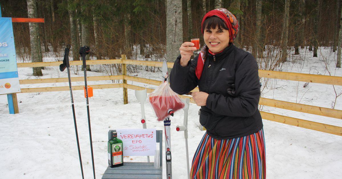 9b4937ee253 Galerii: naistepäeva suusasõidul osalejad said abi dr Schmidti turbotomati  verevahetuslaborist - Tartu Postimees