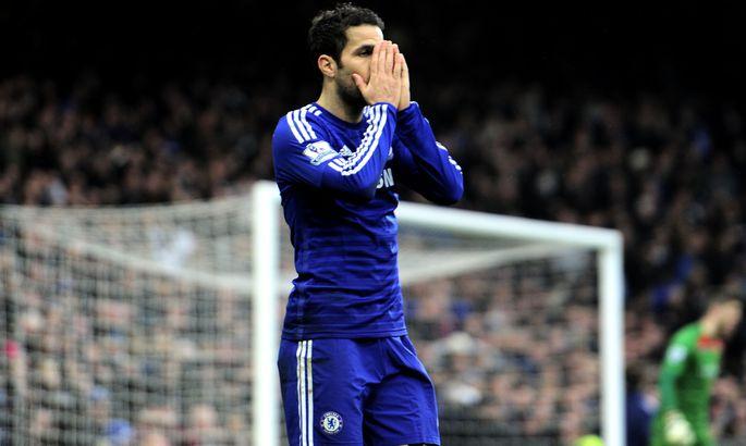 0c6736e10d1 Londoni Chelsea ja nende ühe liidri Cesc Fabregase jaoks on Meistrite liiga  kohtumised selleks hooajaks mängitud. Sel nädalal võib sama saatus tabada  ka ...