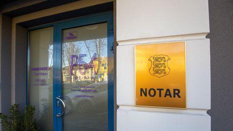Notaribüroodel võimaldatakse jätkata tööd ka rangemate erimeetmete tingimustes
