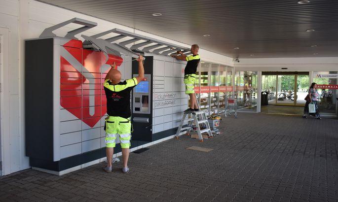 542aa13f5cf Võru Maksimarketi juurde sai paika uus pakiautomaat - Uudised ...