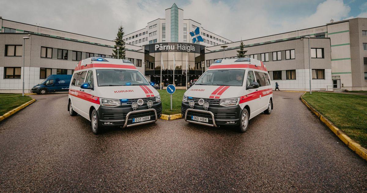 Maakonda lisandus kaks uut kiirabiautot
