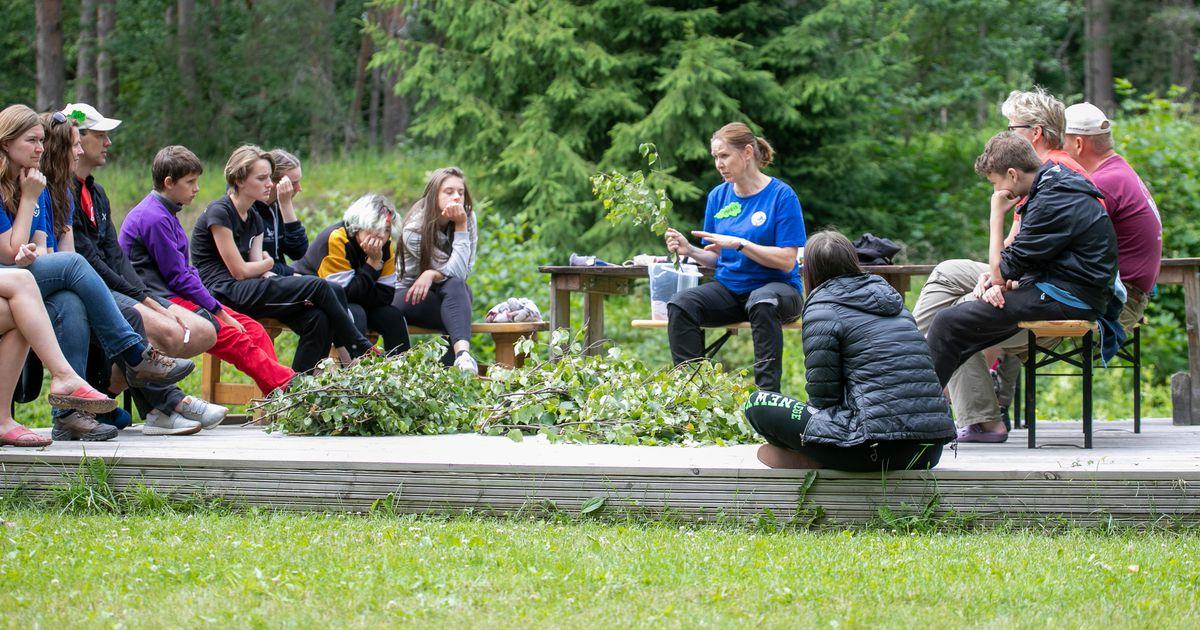 Euroopa noored looduskaitsjad kohtusid Võsul