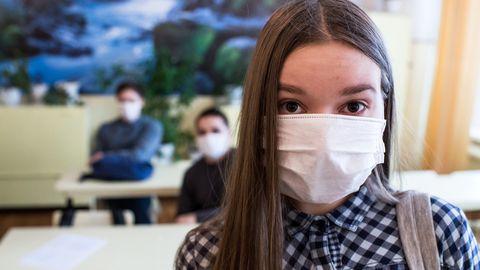 Gripi kaitsemask.