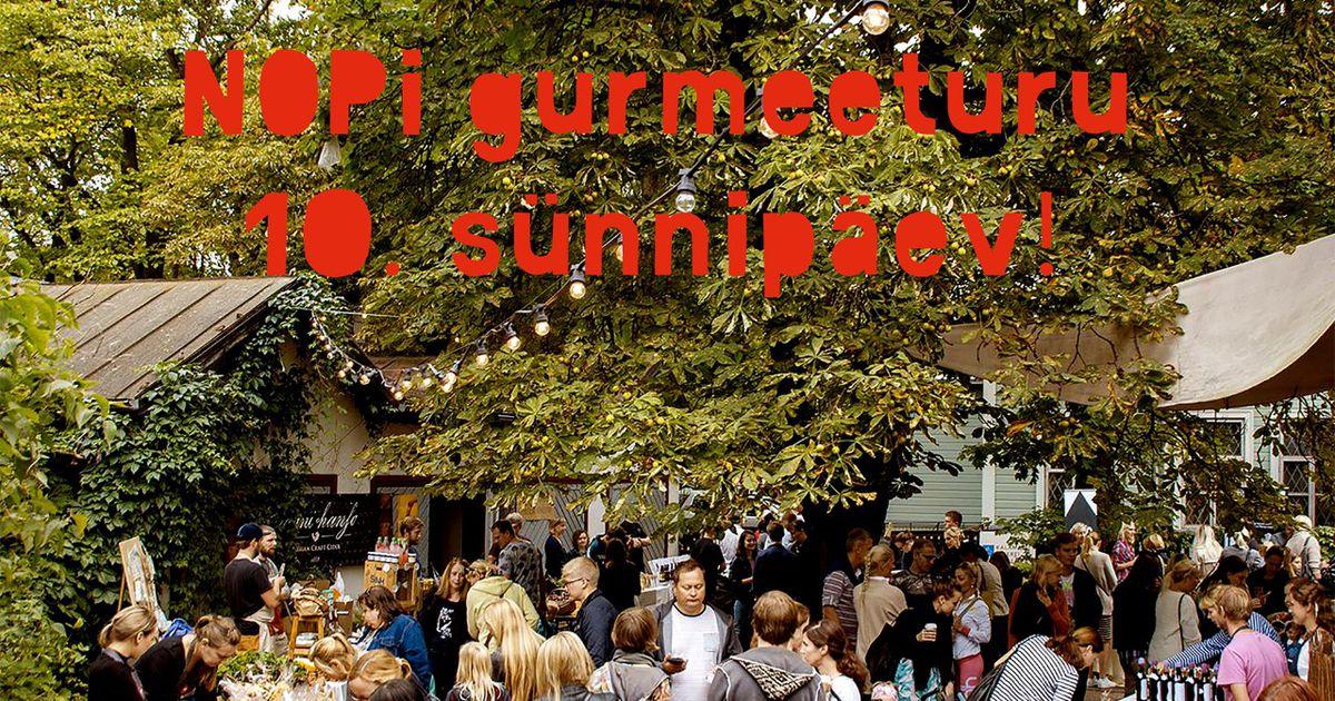 NOPi gurmeeturg peab täna 10. sünnipäeva