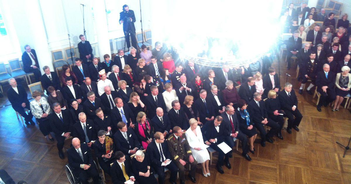 President annab Tartus üle riiklikke autasusid
