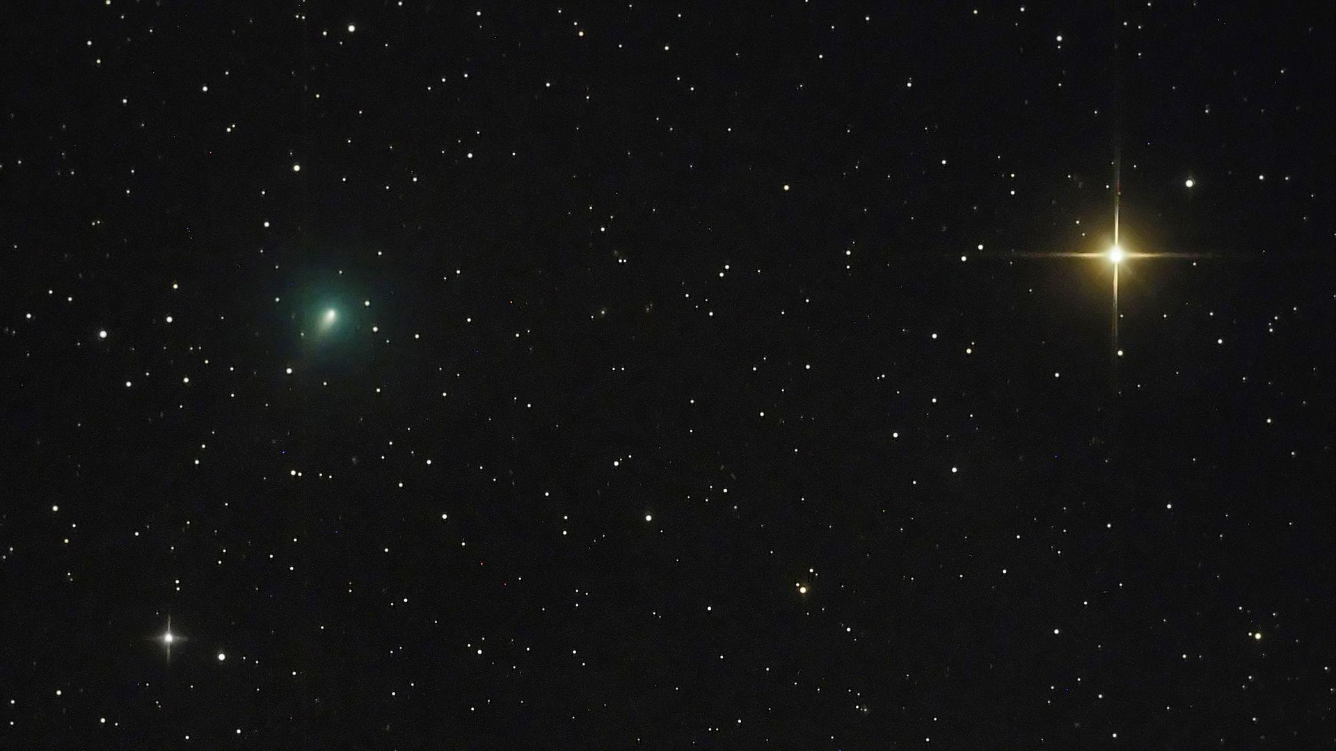 Taevas võib näha erakordselt heledat komeeti: