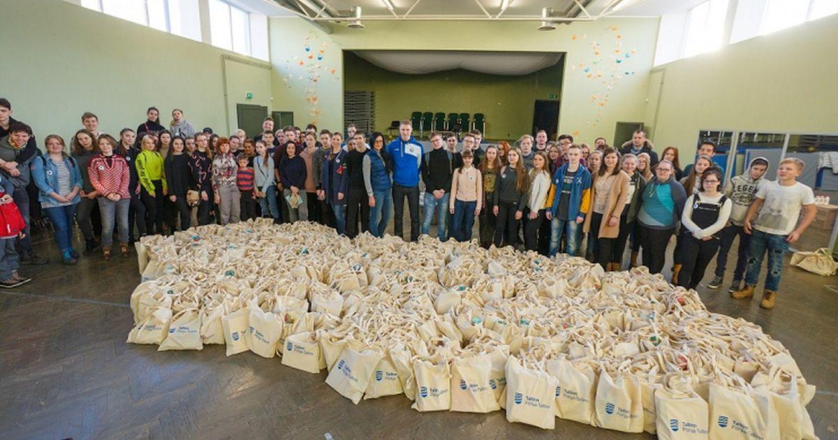 1200 üksikule Tallinna pensionärile kingitakse abipakk