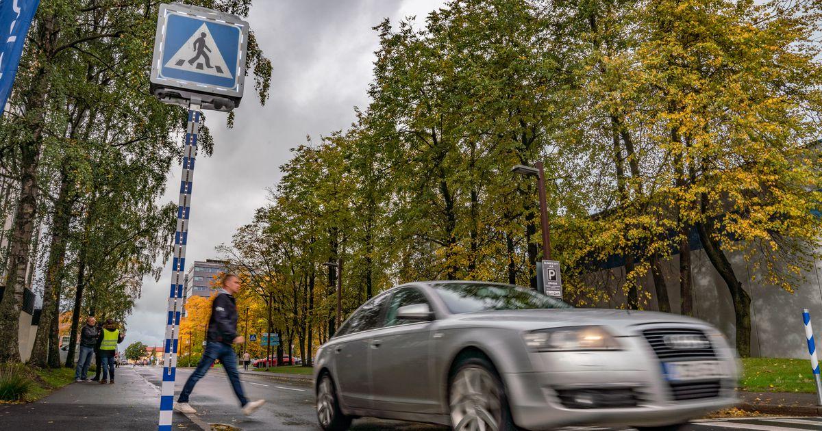 Video ja fotod: Tallinnas sai paika esimene nutikas ülekäigurada