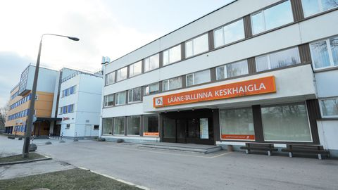 Lääne-Tallinna keskhaigla.