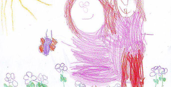 1719c3fe802 Hanna Saara (4 a), Paikuse lasteaed, Saialille rühm | FOTO: Hanna Saara.  Pärnu Postimehe korraldatud suur maakondlik laste joonistusvõistlus
