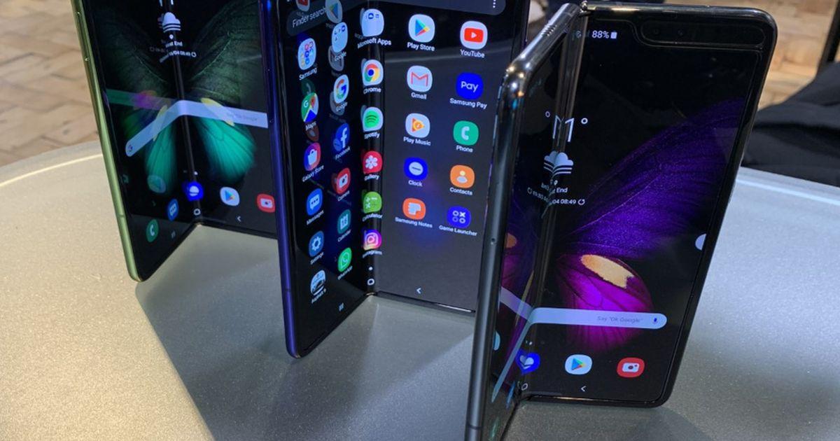 Hävitav hinnang: Samsungi volditav telefon läheb paari päevaga puruks