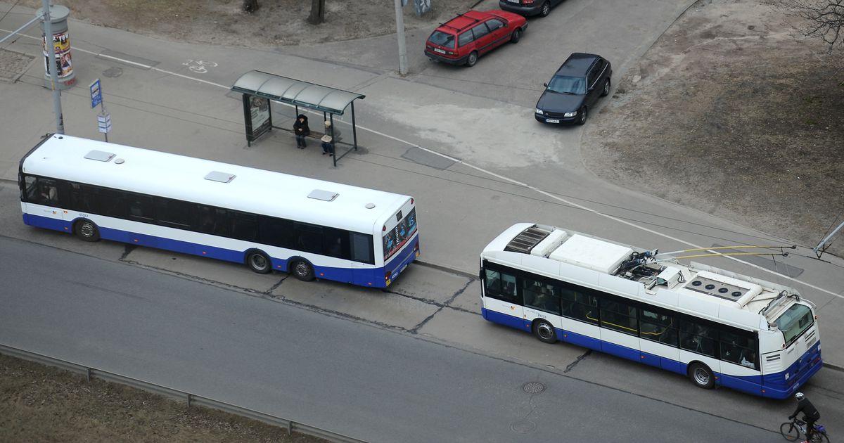 No 1 jūnija atsevišķiem sabiedriskā transporta maršrutiem