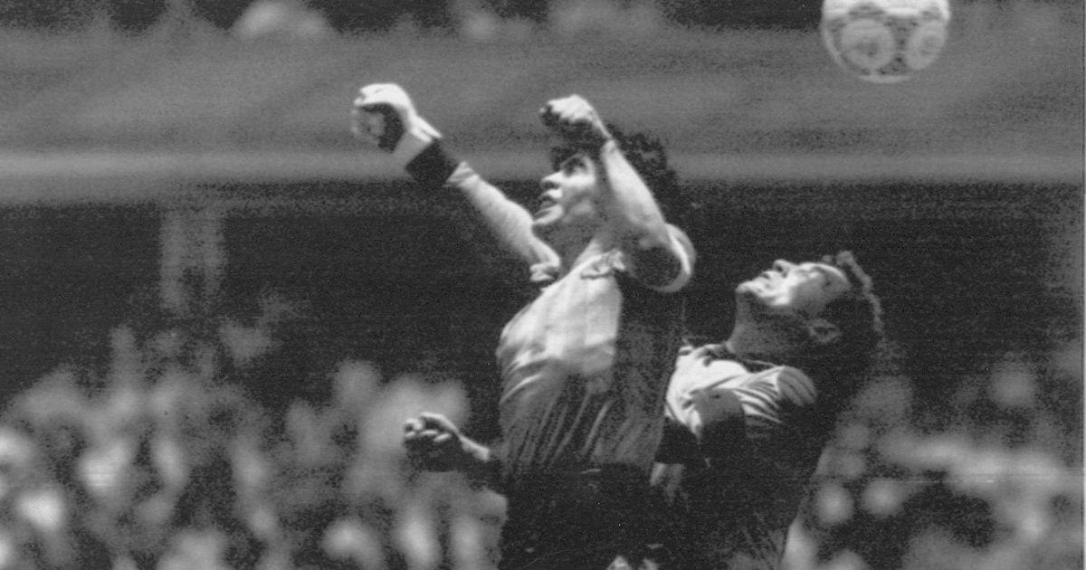 «Jumala käega» Diego Maradona  poolingel, poolkurat ja...