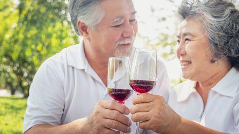 Üht punase veini sorti seostatakse väga kõrge eani elamisega.