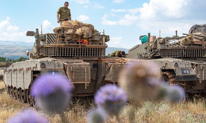 990a7f03ce9 Süüriast tulistati rakettidega Iisraeli armee positsioone Golanis