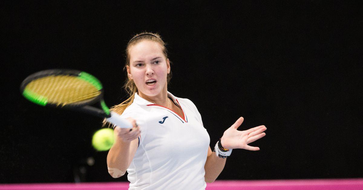 Otseblogi: Valeria Gorlats on Eesti tennisenaiskonna Fed Cupi avamatšis esimesena võistlustules