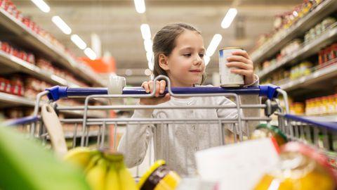 Punased ja rohelised sildid pakenditel mõjutavad tarbijate valikuid.